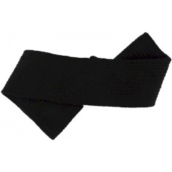 Royal Navy Black Hat Band   Mohair Hat, cap or helmet