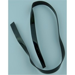Chin Strap For Gurkha Other Ranks Pill-Box Cap Black Shiny  Plastic Hat, cap or helmet