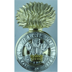 Royal Welch Fusiliers   Anodised Staybrite army cap badge