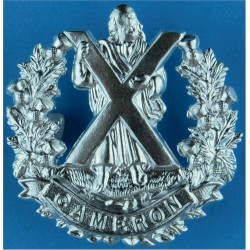 Royal Irish Rangers 1968-1992 with Queen Elizabeth's Crown. Anodised Staybrite army cap badge