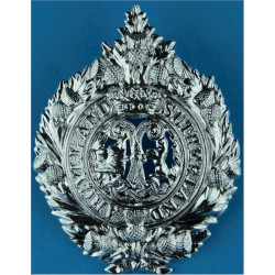Argyll & Sutherland Highlanders (Princess Louise's)   Anodised Staybrite army cap badge
