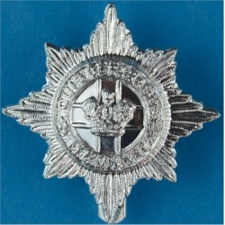 4th/7th Royal Dragoon Guards Pre-1993  Anodised Staybrite army cap badge