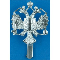 1st The Queen's Dragoon Guards Rare As A/A  Anodised Staybrite army cap badge