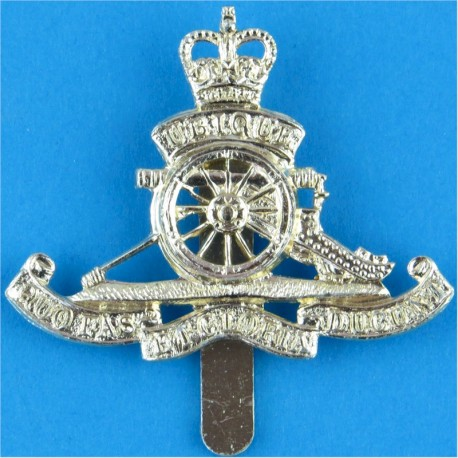 Women's Royal Army Corps Pre-1992 with Queen Elizabeth's Crown. Anodised Staybrite army cap badge