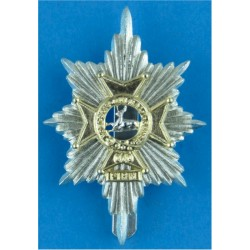 Northumbrian Universities Officers Training Corps Formerly Durham UOTC  Anodised Staybrite army cap badge