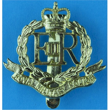 16th/5th The Queen's Royal Lancers  with Queen Elizabeth's Crown. Anodised Staybrite army cap badge