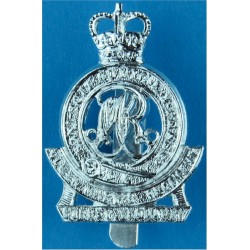 Royal Army Educational Corps Rare As A/A with Queen Elizabeth's Crown. Anodised Staybrite army cap badge