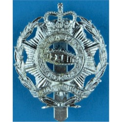 North Somerset and Bristol Yeomanry   Anodised Staybrite army cap badge