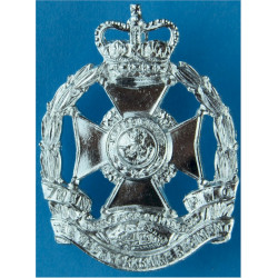 Royal Logistic Corps 1993-2003 Pattern with Queen Elizabeth's Crown. Anodised Staybrite army cap badge