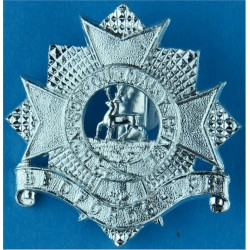 Bedfordshire Regiment 1958-1961  Anodised Staybrite army cap badge