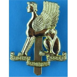 11th Hussars (Prince Albert's Own) Sealed 06 Nov 1964  Anodised Staybrite army cap badge