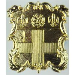 Christ's Hospital: Horsham CCF   Anodised Staybrite army cap badge