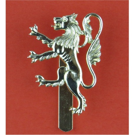 Manchester University Officers Training Corps   Anodised Staybrite army cap badge