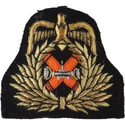 Kuwaiti Army Officer   Mylar Officers' cap badge