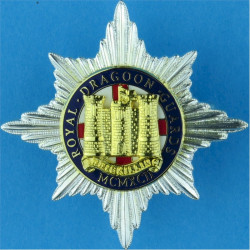 Kenya Army Chaplain Anodised Officers' metal cap badge