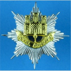 Prince of Wales's Own Regiment of Yorkshire For Norway Ski Hat  Printed Other Ranks' cap badge