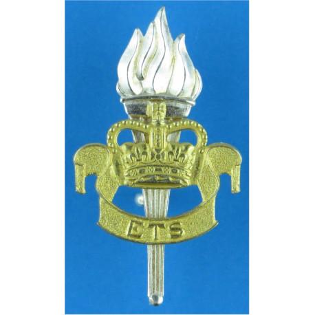 Stonyhurst College CCF (3rd Pattern) Beret Badge  Woven Other Ranks' cap badge
