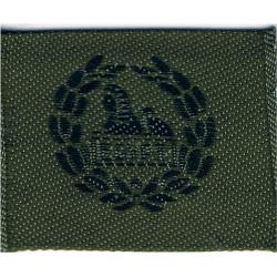 Gloucestershire Regiment (Pate's Grammar School CCF) Back Badge  Woven Other Ranks' cap badge