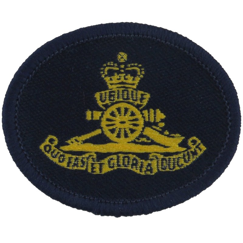 Canadian Forces Military Police Cloth Army Cap Badge