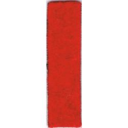 Coldstream Guards (37mm High Vertical Red Stripe) Gulf Helmet Flash  Felt Other Ranks' cap badge
