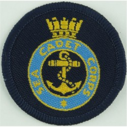 Sea Cadet Corps Beret Badge  Woven Other Ranks' cap badge
