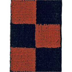 2nd King Edward VII's Own Gurkha Rifles Red & Black Diced  Braid Other Ranks' cap badge