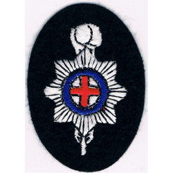 Brighton Hove & Sussex Sixth Form College   Embroidered Other Ranks' cap badge