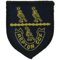 Repton School Combined Cadet Force   Woven Other Ranks' cap badge
