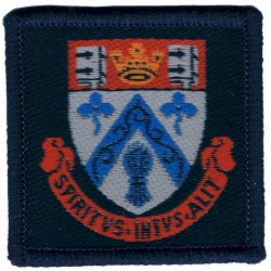 Clifton College Combined Cadet Force: Bristol Cadet Unit  Woven Other Ranks' cap badge
