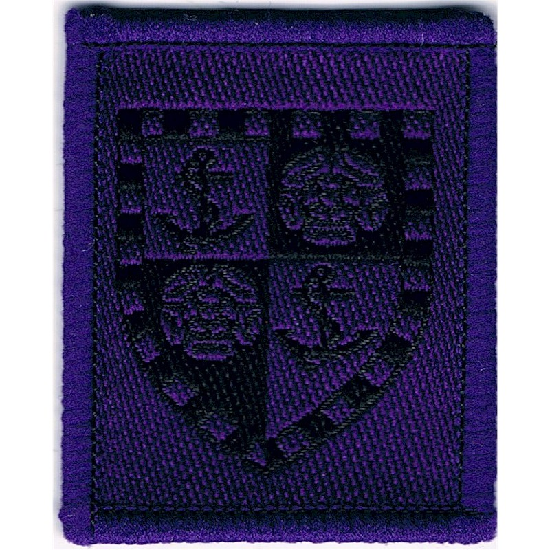 Royal Hospital Chelsea Pensioners Shako Badge Cloth Army