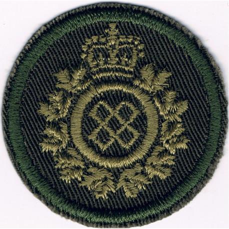 Gloucestershire Regiment - Front Badge   White Metal Other Ranks' metal cap badge