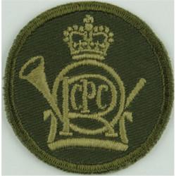 York And Lancaster Regiment Bi-metallic Other Ranks' metal cap badge