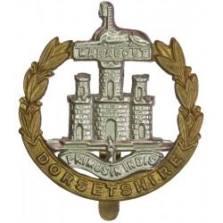 East Yorkshire Regiment   Bi-metallic Other Ranks' metal cap badge