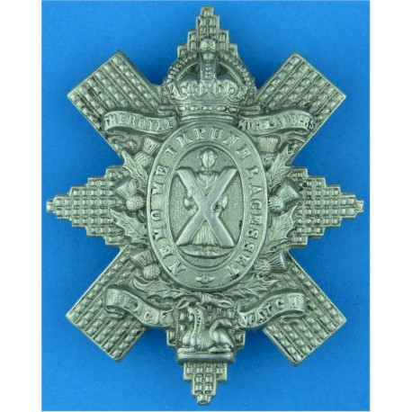 West Yorkshire Regiment (The Prince Of Wales's Own)   Bi-metallic Other Ranks' metal cap badge