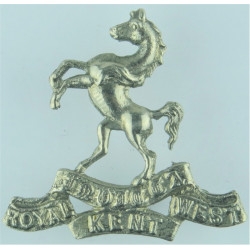 Cheshire Regiment 1922 - 2007  Bi-metallic Other Ranks' metal cap badge