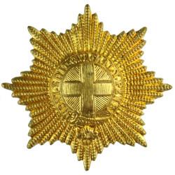 Coldstream Guards   Brass Other Ranks' metal cap badge