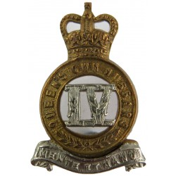 Argyll & Sutherland Highlanders (Princess Louise's) Voided Centre White Metal Other Ranks' metal cap badge
