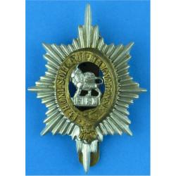 Worcestershire Regiment Post-1925  Bi-metallic Other Ranks' metal cap badge