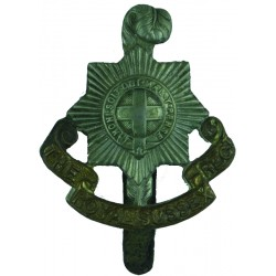 Royal Sussex Regiment   Bi-metallic Other Ranks' metal cap badge