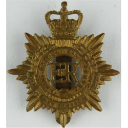 King's Shropshire Light Infantry Beret Size 1950-1958  Bi-metallic Other Ranks' metal cap badge