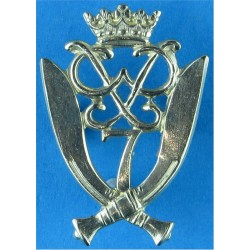 Northamptonshire Regiment - Without Flag Post-1900  Bi-metallic Other Ranks' metal cap badge