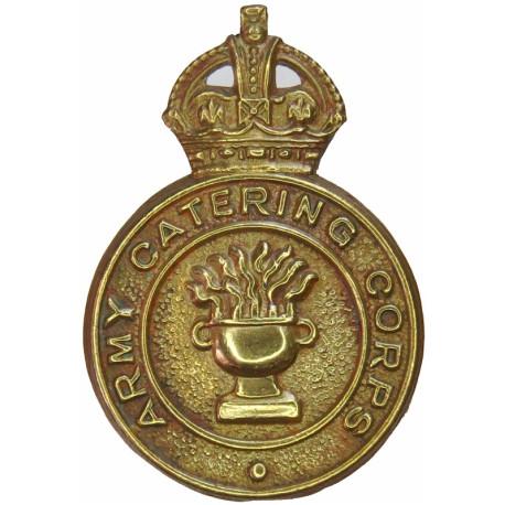 Royal Army Dental Corps  with Queen Elizabeth's Crown. Bi-metallic Other Ranks' metal cap badge
