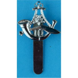 10th Princess Mary's Own Gurkha Rifles Beret Type: Pre-1994  Chrome-plated Other Ranks' metal cap badge