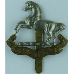 Royal Gloucestershire Berkshire & Wiltshire Regiment Full Size - 41mm Bi-metallic Other Ranks' metal cap badge