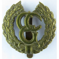 Control Commission Germany   Brass Other Ranks' metal cap badge