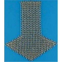 Cavalry / Yeomanry Shoulder Chain Mail Excellent Condition  Nickel-plated