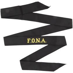 F.O.N.A. (Flag Officer Naval Aviation) Cap-Tally  Woven Naval cap badge or cap tally