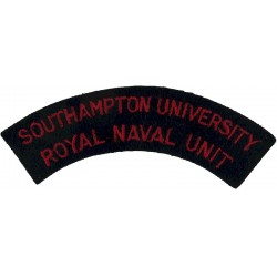Southampton University / Royal Naval Unit Shoulder Title  Embroidered Naval Branch, rank or miscellaneous insignia