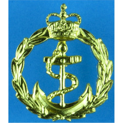 Tie-Pin Rate Badge - Royal Navy Chief Petty Officer  with Queen Elizabeth's Crown. Gilt Naval Branch, rank or miscellaneous insi