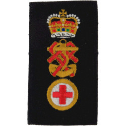 QARNNS Nursing Sister Rank Slide  with Queen Elizabeth's Crown. Embroidered Naval Branch, rank or miscellaneous insignia
